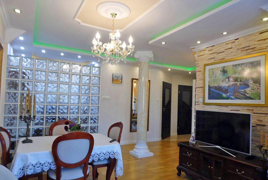 wytworne wnętrze luksusowego apartamentu na sprzedaż Malbork