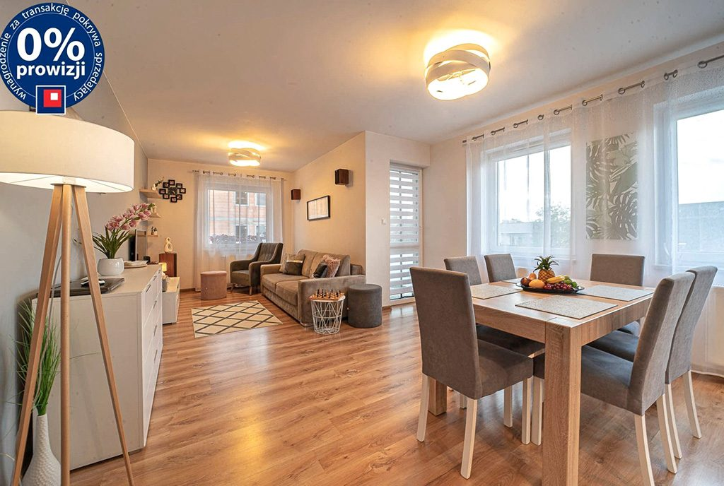 imponujące rozmachem wnętrze ekskluzywnego apartamentu do sprzedaży Bolesławiec