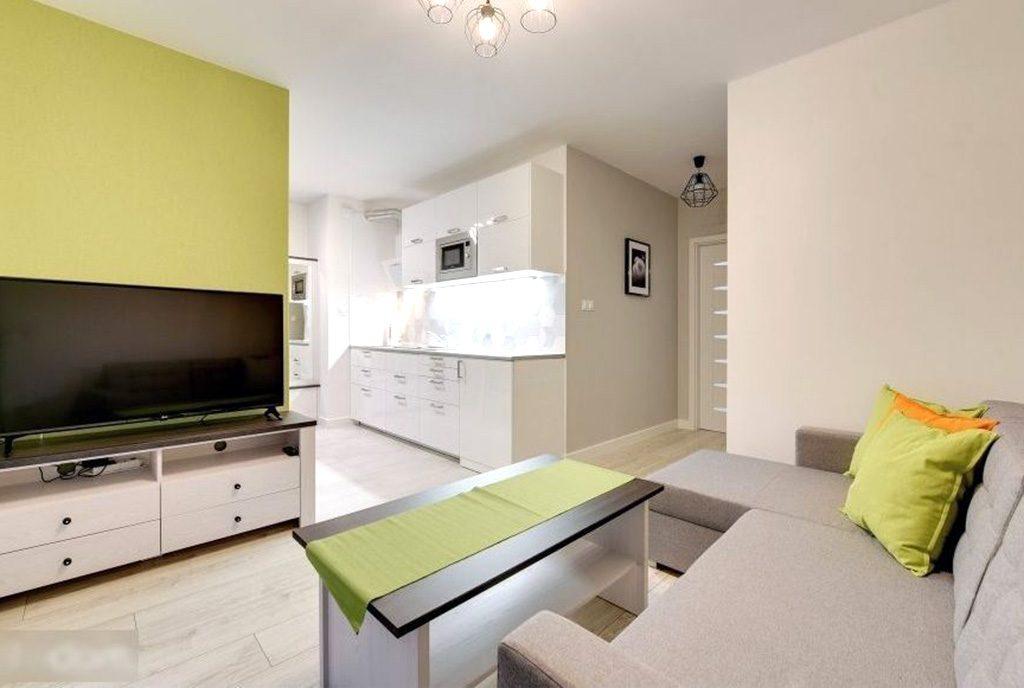 nowoczesna kuchnia w ekskluzywnym apartamencie do sprzedaży Gdańsk