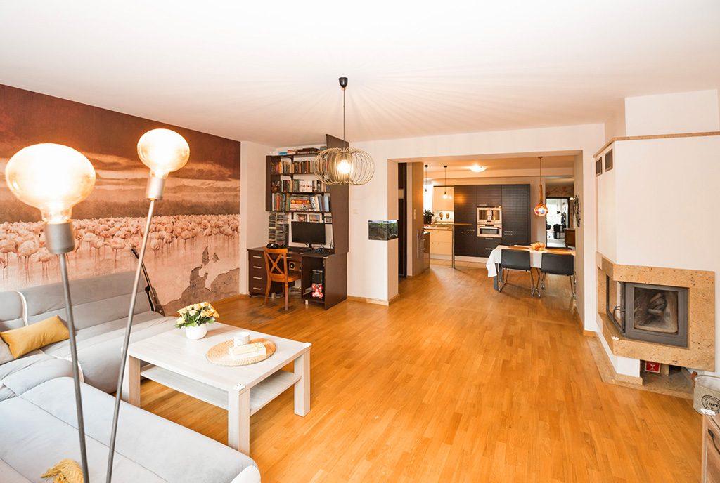 przestronne i luksusowe wnętrze ekskluzywnego apartamentu do sprzedaży Kalisz