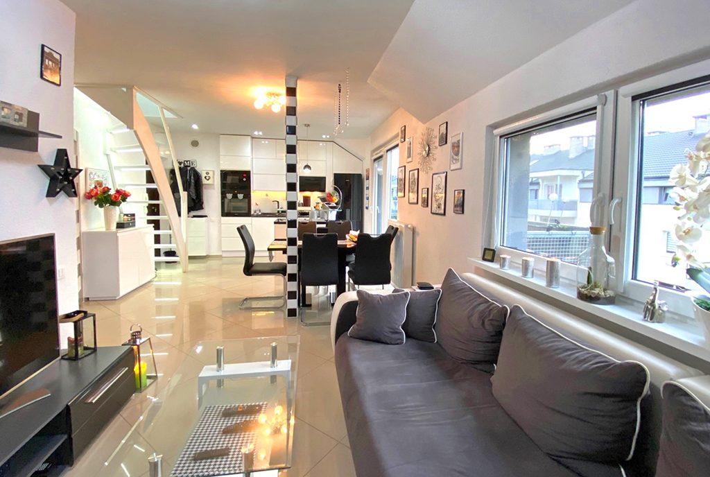 komfortowe wnętrze ekskluzywnego apartamentu do sprzedaży Szczecin (okolice)