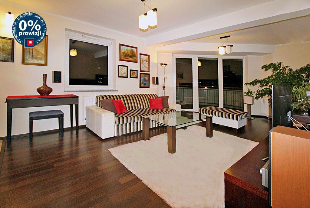 przestronny salon w ekskluzywnym apartamencie do sprzedaży Gorzów Wielkopolski