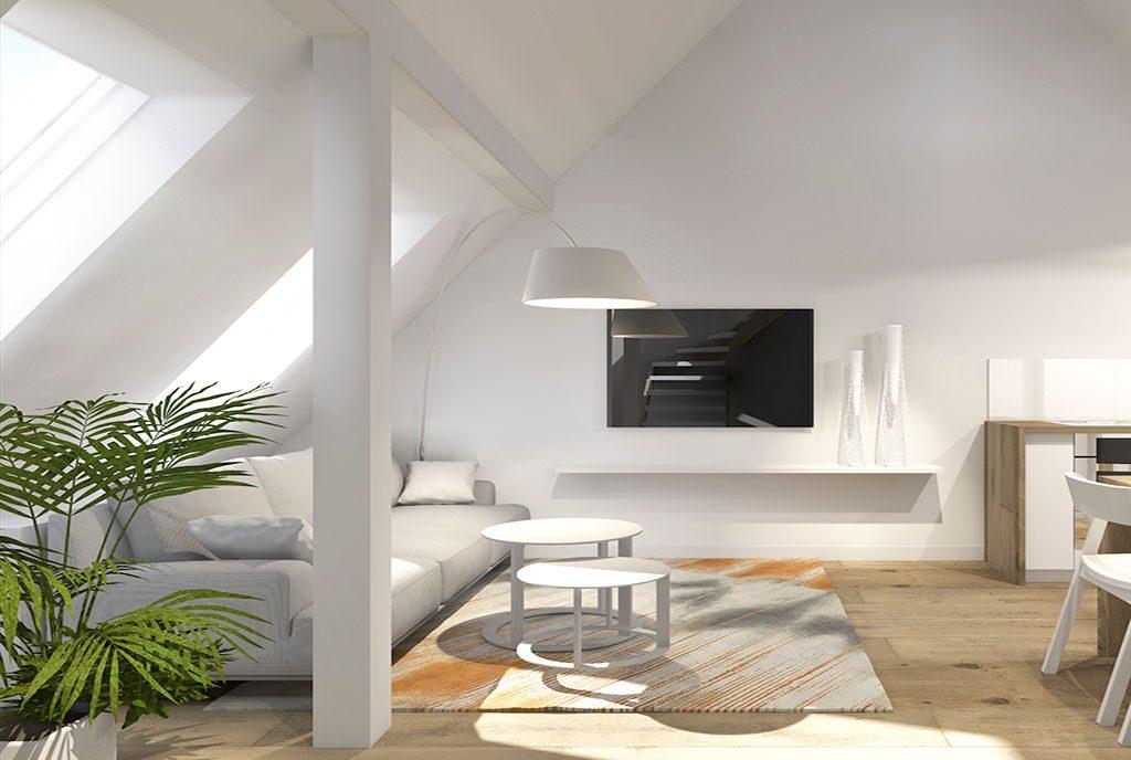 modna, zadbana w nowoczesnym designie aranżacja wnętrza ekskluzywnego apartamentu na sprzedaż Szczecin