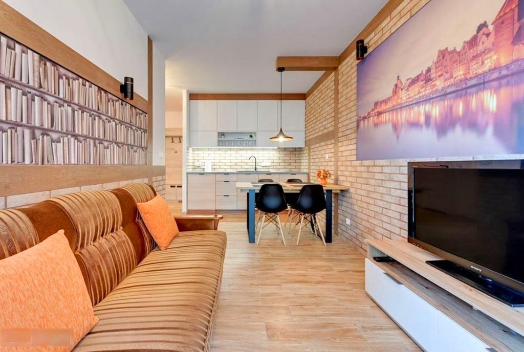 imponujące bogactwem i rozmachem wnętrze ekskluzywnego apartamentu do sprzedaży Gdańsk