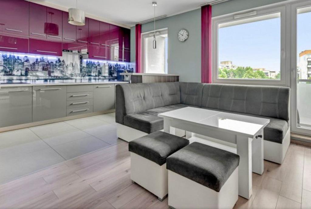 kameralne wnętrze luksusowego apartamentu na sprzedaż Gdańsk