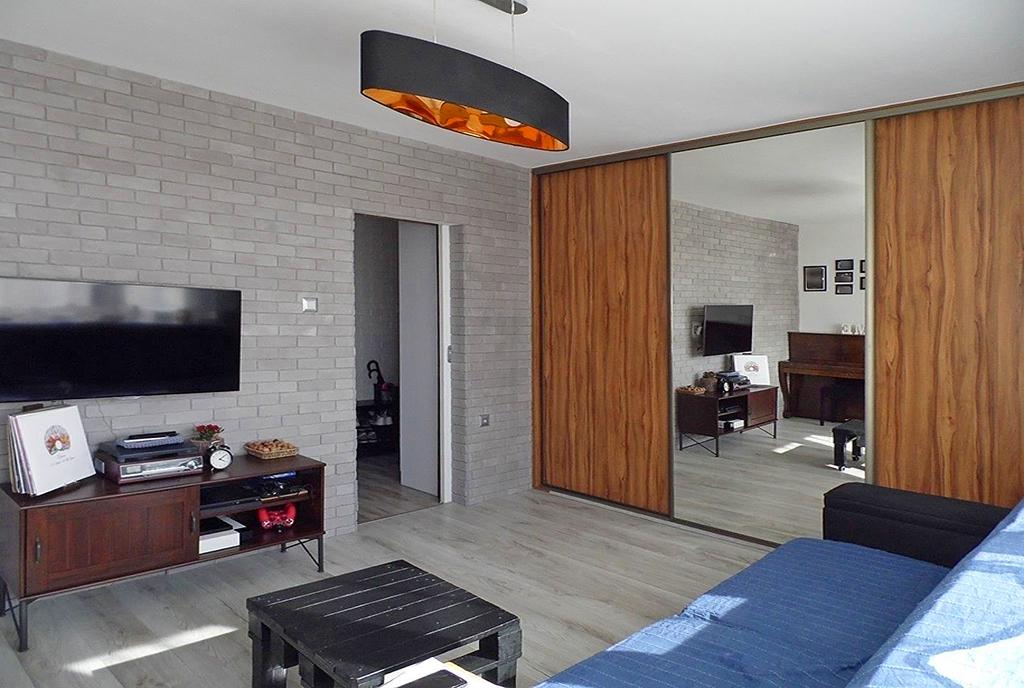 nowoczesny salon w luksusowym apartamencie do sprzedaży Malbork