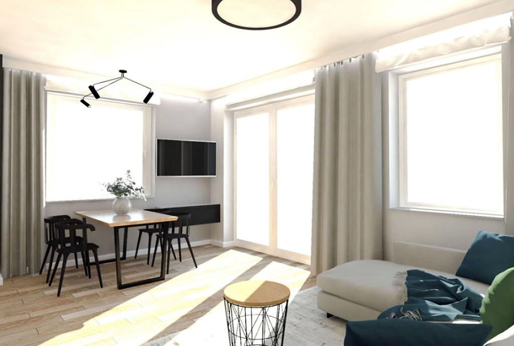 nowoczesne wnętrze ekskluzywnego apartamentu do sprzedaży Ostrów Wielkopolski