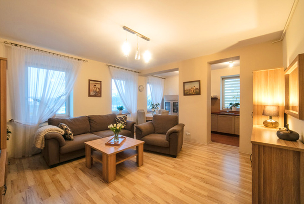 imponujące rozmachem wnętrze luksusowego apartamentu na sprzedaż Szczecin