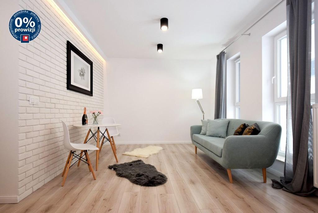 nowoczesny salon w ekskluzywnym apartamencie na sprzedaż Lublin