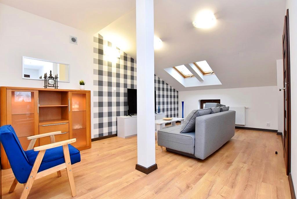 zaprojektowane zgodnie z najnowszymi trendami wnętrze ekskluzywnego apartamentu do wynajęcia Inowrocław
