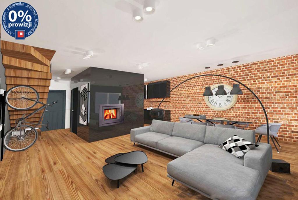 nowoczesny pokój gościnny w ekskluzywnej willi do sprzedaży Katowice (okolice)