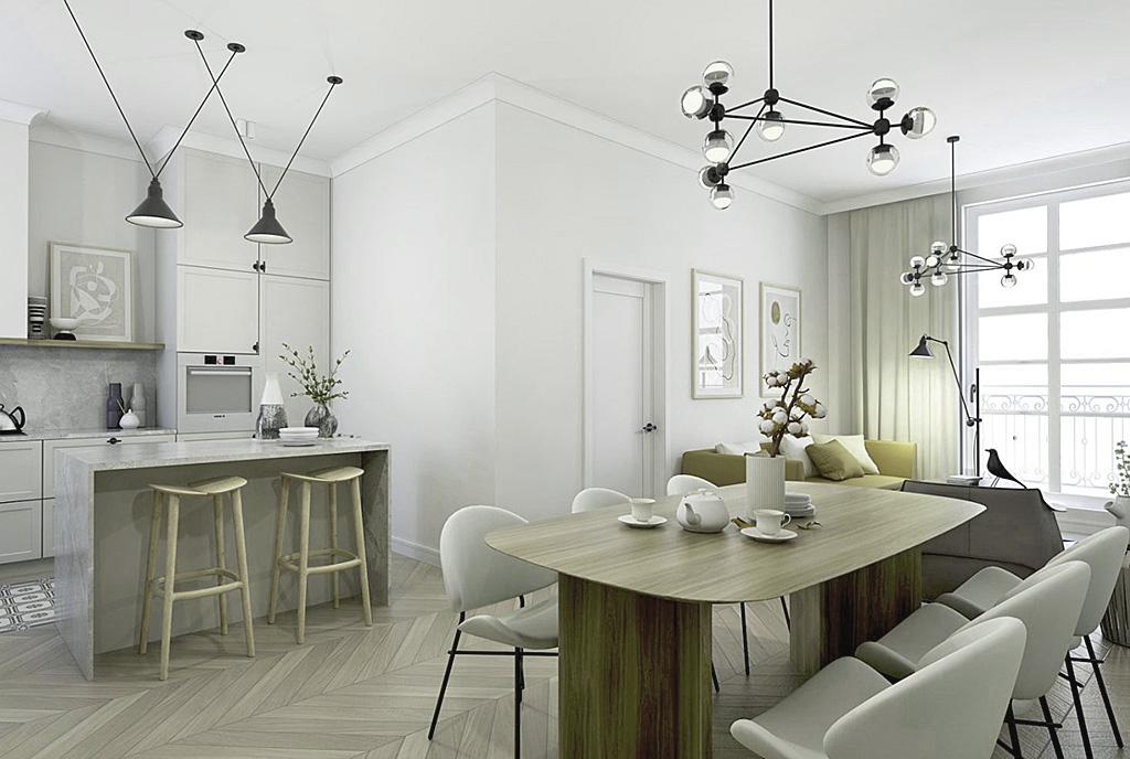 funkcjonalnie zaprojektowane wnętrze ekskluzywnego apartamentu do sprzedaży Kalisz