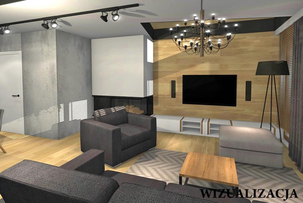 widok na salon w ekskluzywnym apartamencie do sprzedaży Kwidzyn