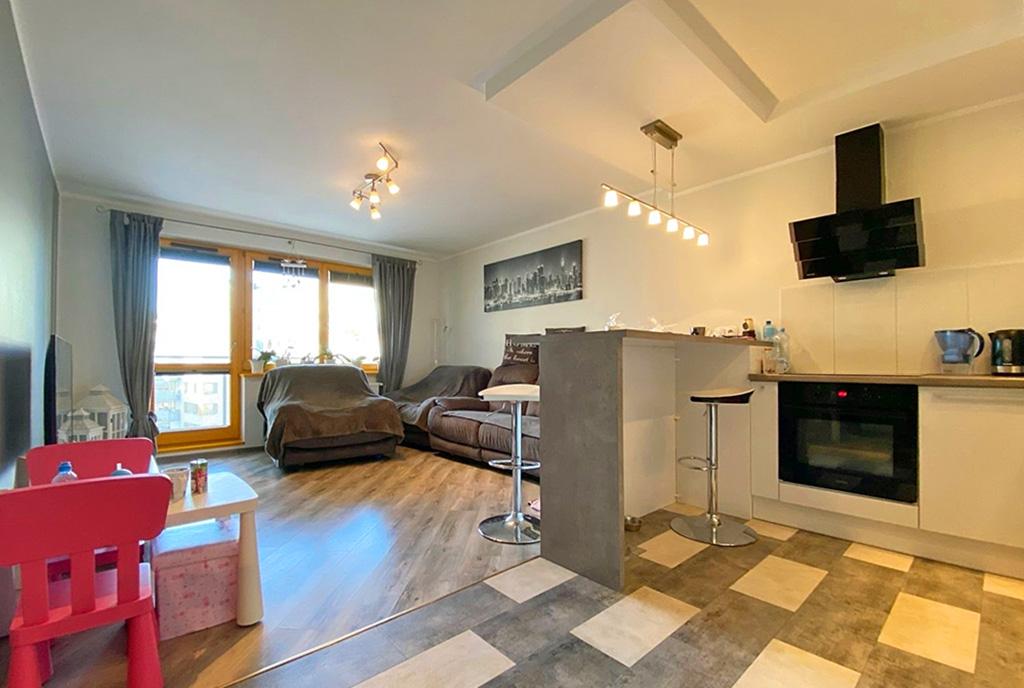 zaprojektowane zgodnie z najnowszymi trendami wnętrze ekskluzywnego apartamentu do sprzedaży Szczecin