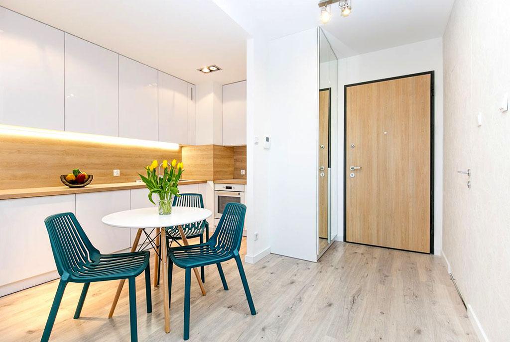 zaaranżowane w nowoczesnym designie wnętrze ekskluzywnego apartamentu do sprzedaży Gdańsk
