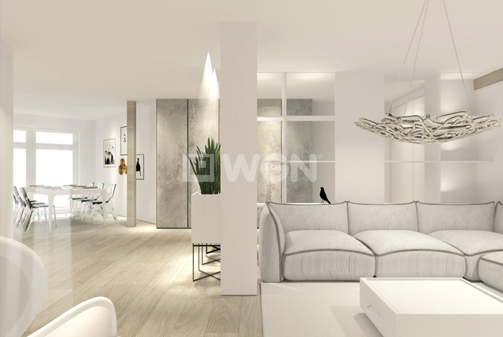 słoneczne pokoje w ekskluzywnym apartamencie na sprzedaż w Szczecinie