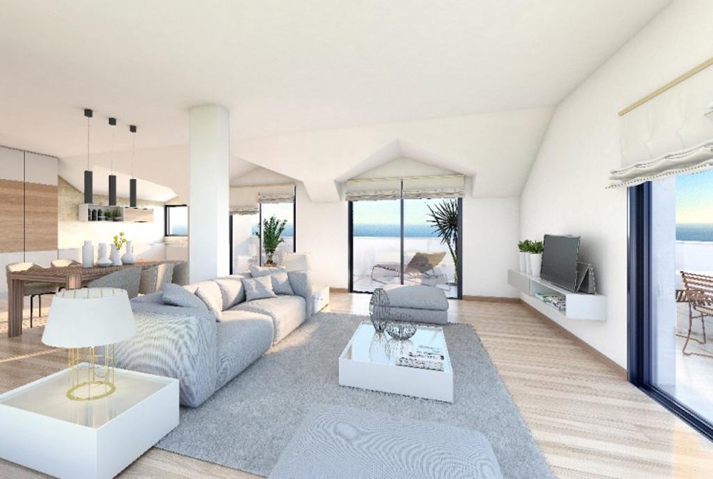 stylowe wnętrze ekskluzywnego apartamentu do sprzedaży Hiszpania (Benalmadena)
