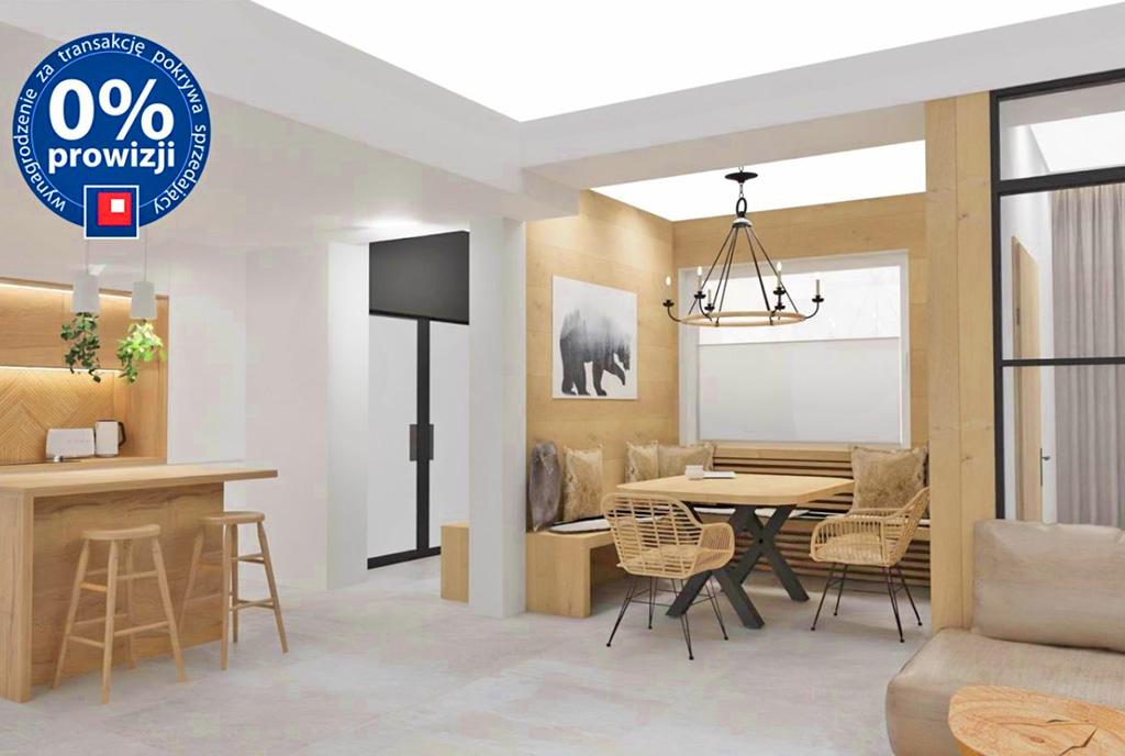 imponujące bogactwem wnętrze ekskluzywnego apartamentu do sprzedaży Szczyrk