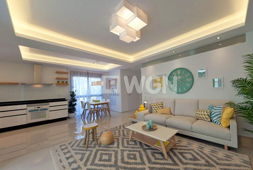 imponujące rozmachem wnętrze luksusowego apartamentu do sprzedaży Hiszpania