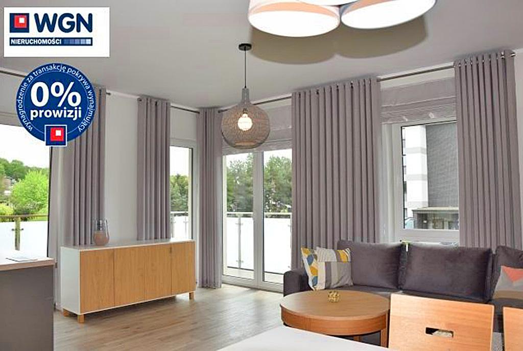 stylowy salon w ekskluzywnym apartamencie do wynajęcia Słupsk