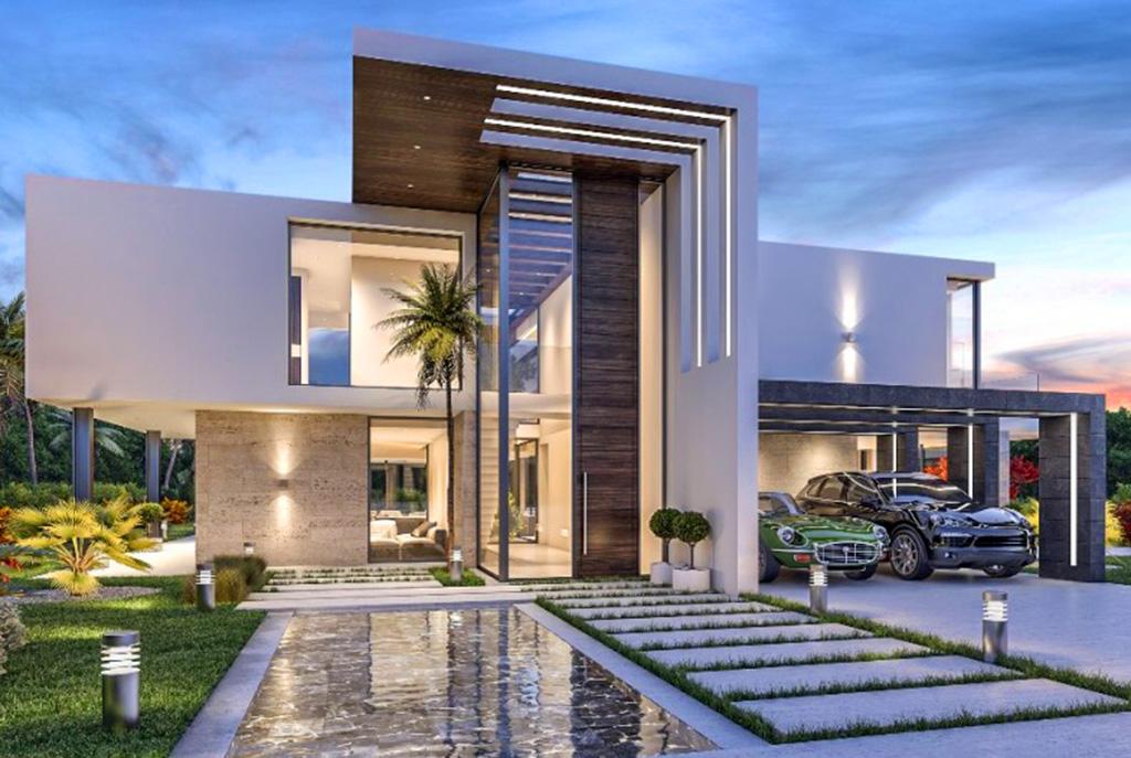 zbliżenie na basen przy luksusowej willi do sprzedaży Hiszpania
