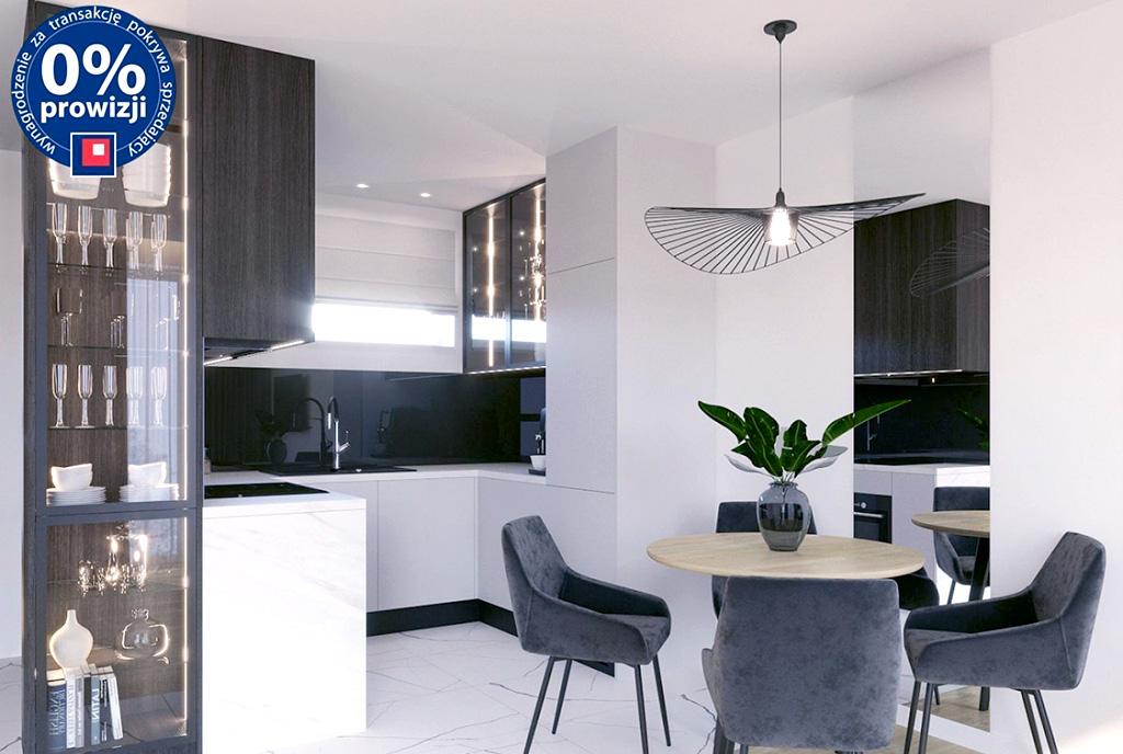 zaprojektowane zgodnie z najnowszymi trendami wnętrze ekskluzywnego apartamentu do sprzedaży Lublin