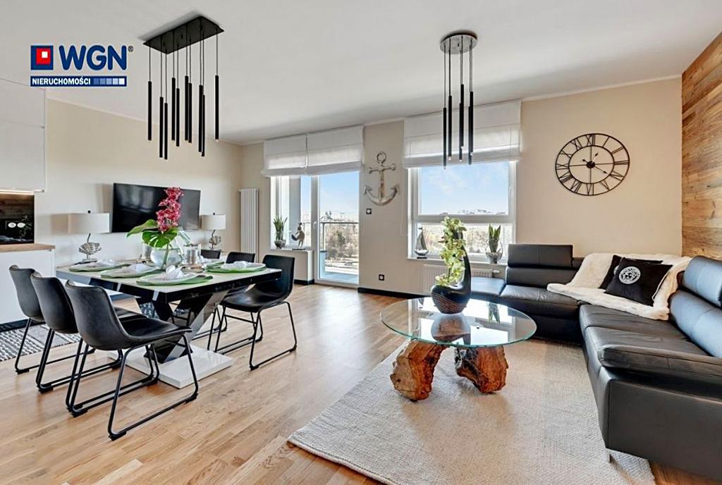 zapierające dech w piersiach wnętrze ekskluzywnego apartamentu do sprzedaży Gdańsk