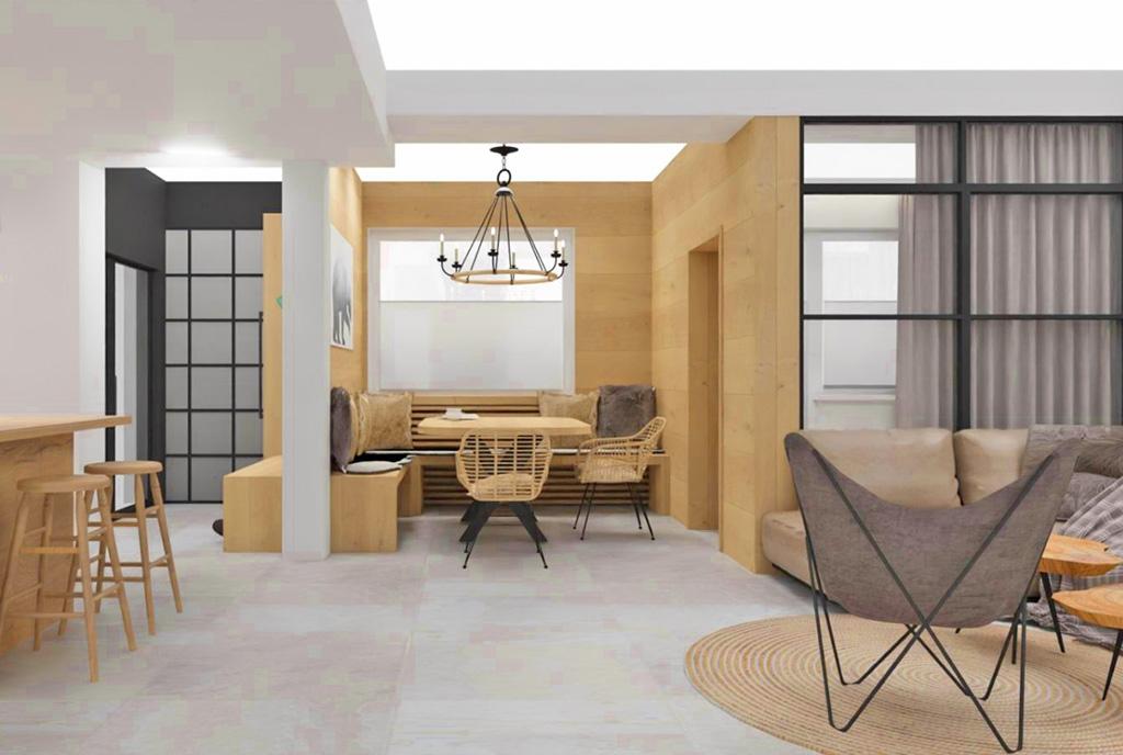 zapierające dech w piersiach bogactwem wnętrze luksusowego apartamentu na sprzedaż Szczyrk