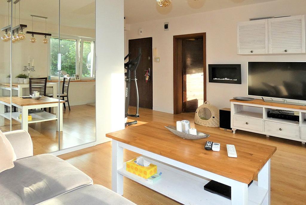 zaprojektowane funkcjonalnie wnętrze ekskluzywnego apartamentu do sprzedaży Ostrów Wielkopolski