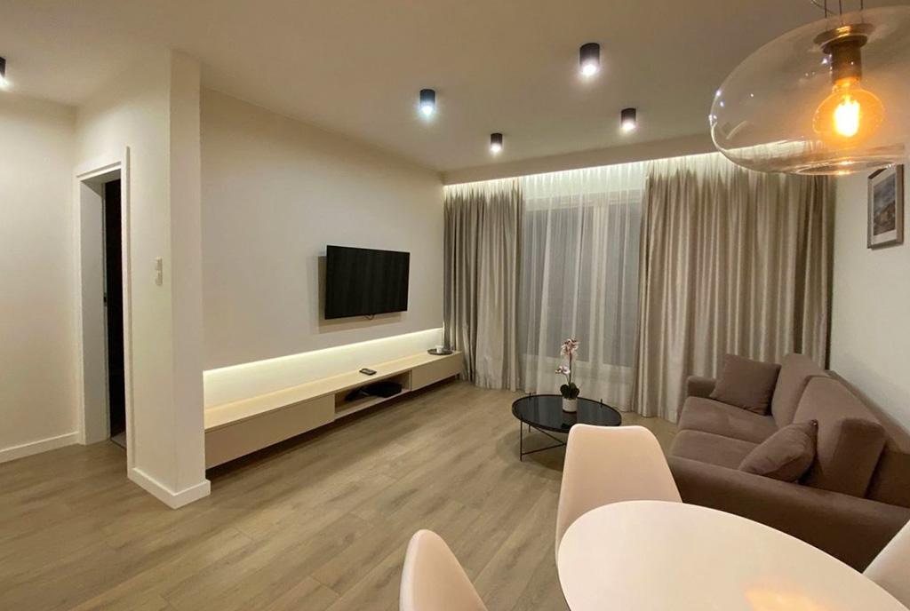 imponujące wnętrze ekskluzywnego apartamentu na wynajem Szczecin