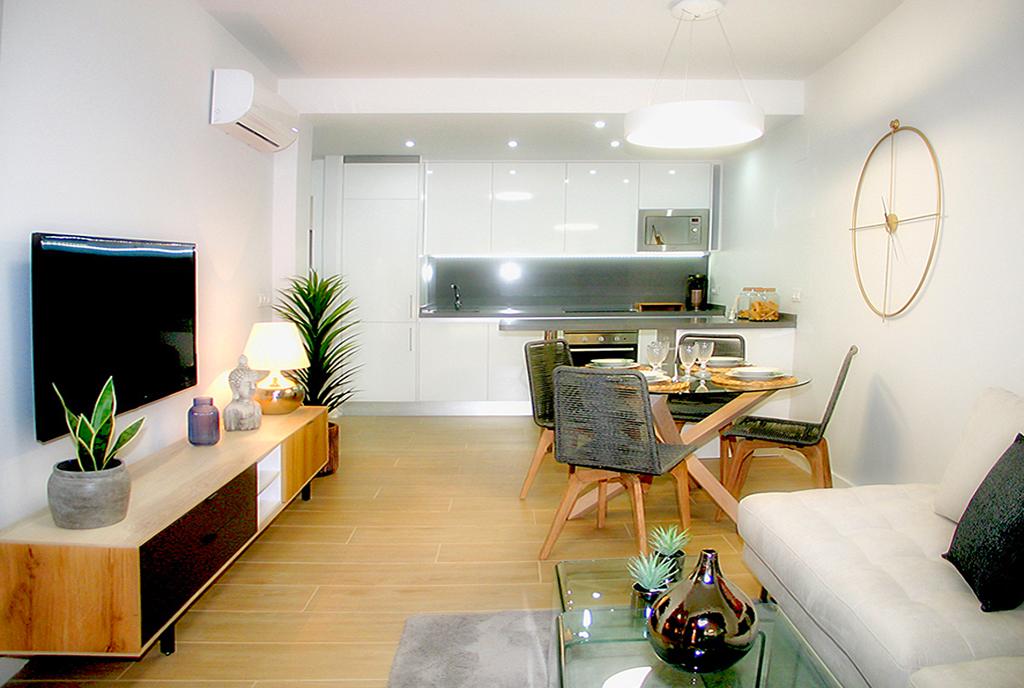stylowe wnętrze ekskluzywnego apartamentu do sprzedaży Hiszpania (Orihuela Costa, Villamartin)