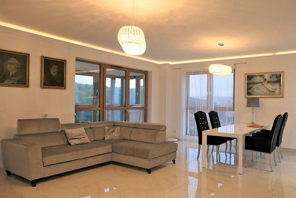 imponujące rozmachem wnętrze ekskluzywnego apartamentu na sprzedaż Gdańsk
