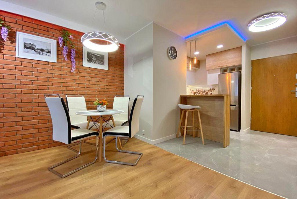 nowoczesny design wnętrza ekskluzywnego apartamentu do wynajęcia Szczecin