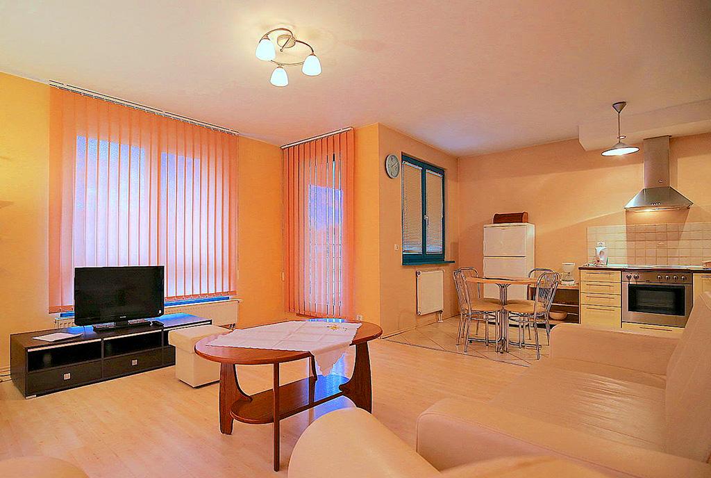 ciekawa aranżacja wnętrza ekskluzywnego apartamentu do wynajęcia Szczecin
